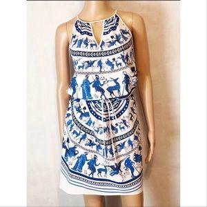 Clover Canyon Greek Print Dress S